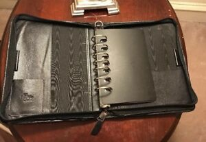 Monarch Leather Classic 1 5 Franklin Covey Quest Planner Binder 10 5 X 8 5