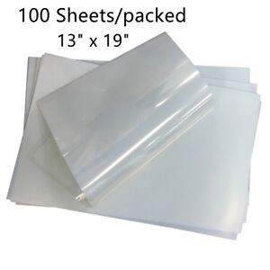 13 X 19 Waterproof Inkjet Transparency Film Paper For Silk Screen Printing Usa