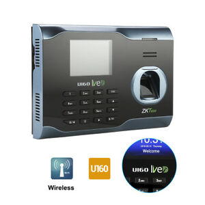U160 Biometric Anti fake Fingerprint Time Attendence Clock Wifi Tcp ip Usb