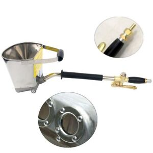 Cement Mortar Concrete Air Stucco Plastering Sprayer Hopper Paint Wall Gun Tools