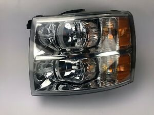 2007 2008 2009 2010 2011 2012 2013 Chevrolet Silverado 1500 Left Headlight Oem