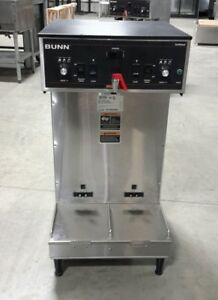 Used Bunn 27900 0002 Dual Coffee Brewer For Satellites