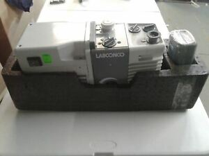 Labconco 117 Vacuum Pump Rotary Vane Dual Stage Mechanical Edwards A65312906