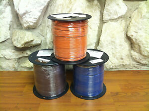 1000 Ft Tffn tewn Wire 16 Awg Stranded 600 Volt Made In Usa Wht red black