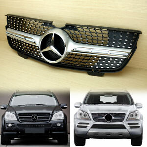 Gl Class Mercedes Benz X164 Silver Front Grille 2007 2009 Gl320 Fit Benz