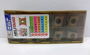 Iscar 5607233 Carbide Thread Inserts 5 Cut Length 541 oal Ic830 Box Of 10