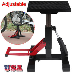 Adjustable Motorcycle Racing Offroad Motocross Dirt Bike Steel Lift Jack