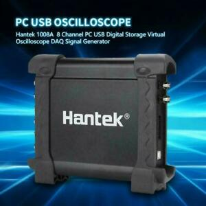Hantek 1008a Pc Usb Digital Storage Virtual Oscilloscope Daq Signal Generator