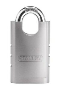 New Stanley Hardware S828 160 Cd8820 Shrouded Hardened Steel Padlock