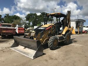 2013 Caterpillar 420f It 4wd Backhoe Wheel Loader Tractor 4x4