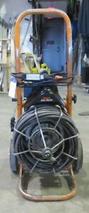 General Wire 50 1 2 X 50 Sewer Rooter Sewer Auger Drain Auger Sewer Snake Eel