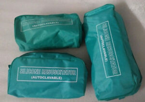 Brand New Ambu Bag Adult Child Infant Silicon Manual Resuscitator 6 cpr Kit
