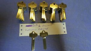 50 Key Blanks Blank Keys For Best l Keyway They Have Duplication Prohibited