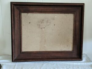 Gorgeous Antique Walnut Photo Print Frame By O Brien Chicago Usa 20 By 16