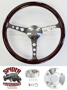 1957 Bel Air 210 150 Nomad Steering Wheel 15 Classic Mahogany