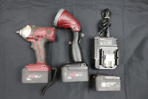 Matco Tools Mcl1838iw 18v 3 8 Impact Wrench mcl1828led 18v Led Worklight