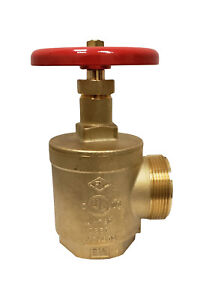 Angle Hose Valve Threaded 2 Nycc Fire Station Valve Ny Approved