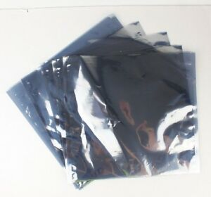 13 x13 Open Top Esd Static Shielding Bag Poly Flat Electronics 3mil Motherboard