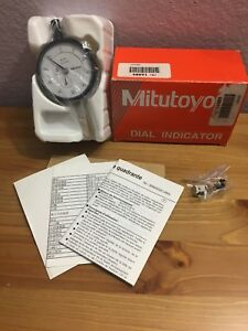 New Dial Indicator 0 10mm X 0 01mm Grad Dial Gauge For Mitutoyo 2046s