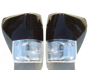 07 13 Tundra Smoked Tail Lights Oem Tinted Non Led Painted Toyota Custom