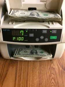 Ez Count 1000 Bill Currency Counter