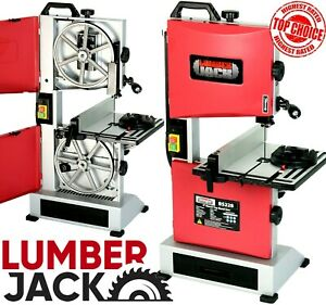 Lumberjack 9 Bench Top Woodworking Bandsaw Cast Table Wood Cutting Blade 240v
