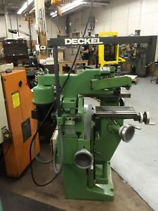 Friedrich Deckel Gk21 Universal Engraving And Copy Milling Machine