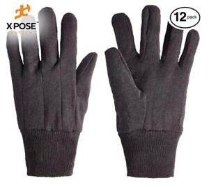 Protective Work Gloves 12 Pack For Industrial Labor Home And Gardening