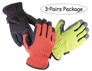 Skydeer Armprotec Protective Synthetic Leather Workpro Safety Work Glove For