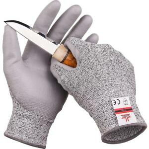 Safeat Safety Grip Work Gloves For Men And Women Protective Flexible Cut