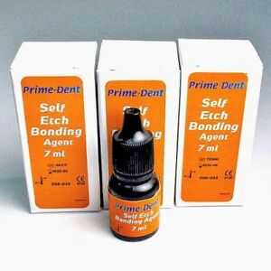 Pack Of 3 Prime dent Self Etch All In One Step Bonding Agent 7 Ml Bottle