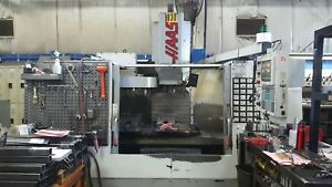 Used Haas Vf 3 Cnc Vertical Machining Center Mill 32 Tools Gearbox 4th Ready 98