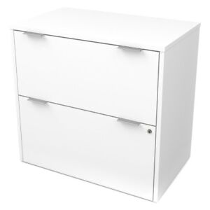 Bestar I3 Plus Two Drawer Lateral File Cabinet