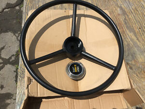 Ih Farmall 140 second Series Steering Wheel Center Cap New Reproduction