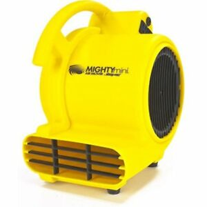 Quiet Air Mover Blower Fan Carpet Floor Dryer Wall Ceiling Stackable Powerful