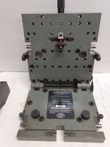 Moore Tools 3 Micro sine Table Stk 11182z