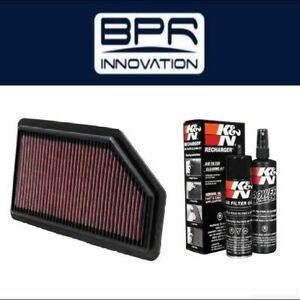 K N Air Filter 33 2461 99 5000 Cleaning Care Service Kit