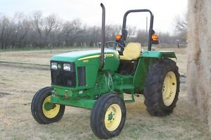 2008 John Deere 5103 Tractor With Joystick And Hydraulic Hookup For Loader