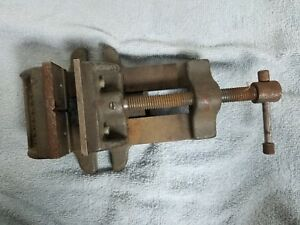 Palmgren 320 Drill Press Vise With Mounting Lugs 3 W X 3 Jaw Opening