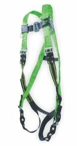 Miller Python By Honeywell Full Body Harness Universal Up To 400 Lbs Green