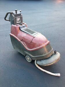 Minuteman Lumina Battery Floor Burnisher 20 Traction Drive Made In Usa Used