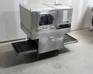 Used Lincoln Impinger 1301 Electric Conveyor Oven With Ventless Exhaust System