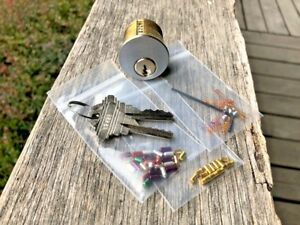 Schlage Premier Challenge Lock 7 Pin Mortise Cylinder With Extras