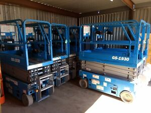 2012 Genie Gs1930 Scissor Lift Serviced And Ready To Go Quantity Available