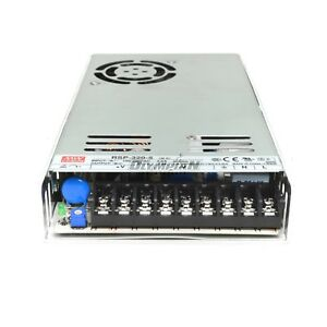 New Mean Well Rsp 320 5 300w 5 Volt Power Supply With Pfc For Led Signs