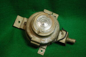 Vintage 60s Reel Out Emergency Trunk Hood Lamp Auto Accessory Gm Car Light 70s