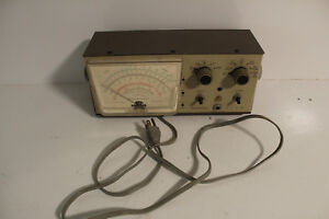 Heathkit Vtvm Vacuum Tube Voltmeter Model Im 28 In1191 M1t
