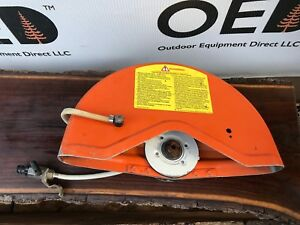 Stihl Oem Ts400 Concrete Saw 14 Blade Cover W Water Line Ships Fast