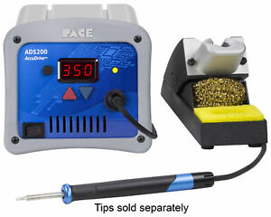 Pace Ads200 Accudrive Production Soldering Station With Instant Set Back Stand