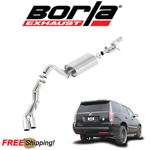 Borla Touring Cat back Performance Dual Exhaust 15 18 Cadillac Escalade 6 2l V8